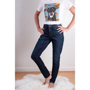 Hudson MidRise Natalie Super Skinny Jeans Size 29